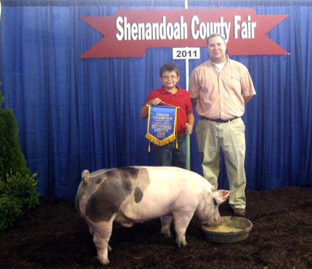 2011 Grand Champion Shenandoah County, VA