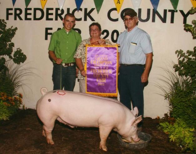 2011 Grand Champion Frederick County, VA