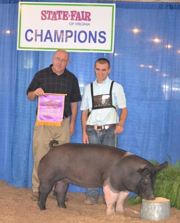 2011 Overall Grand Champion Breeding Guilt Virginia State Fair