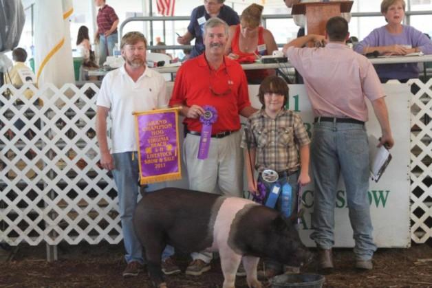 2011 Virginia Beach 4-H Livestock Show – Grand Champion Hog