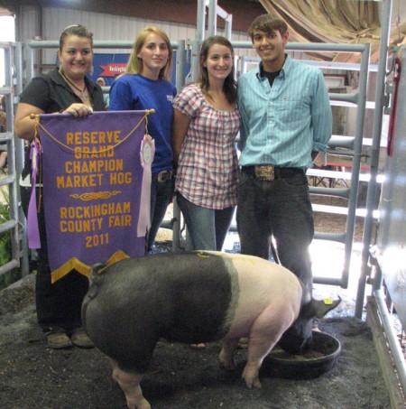 2011 Rockingham County Fair Reserve Grand Champion Market Hog